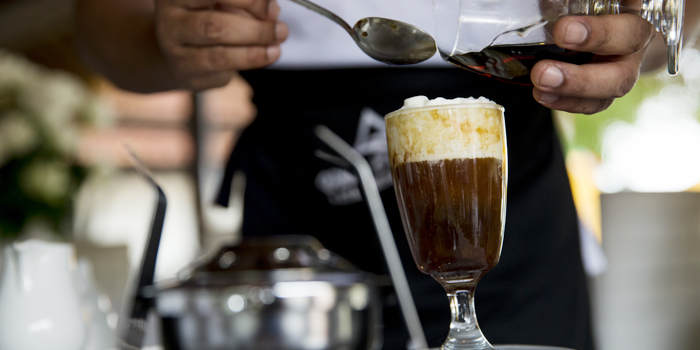Irish Coffee from Bella Vista Oceanfront Terrace Restaurant in Karon, Phuket, Thailand