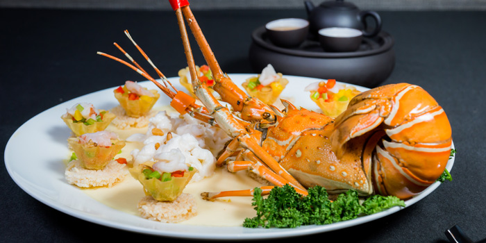 Lobster from The Pagoda at Marriott Marquis Queen