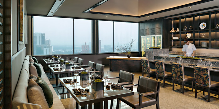 Omagaze Dining Area of Akira Back at Marriott Marquis Sukhumvit 22, Klongton Klongtoey, Bangkok Thailand