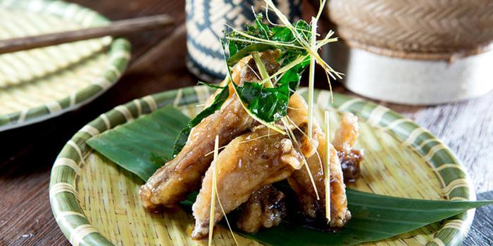 Oyster Chicken, Sisombath Laos Restaurant, Central, Hong Kong