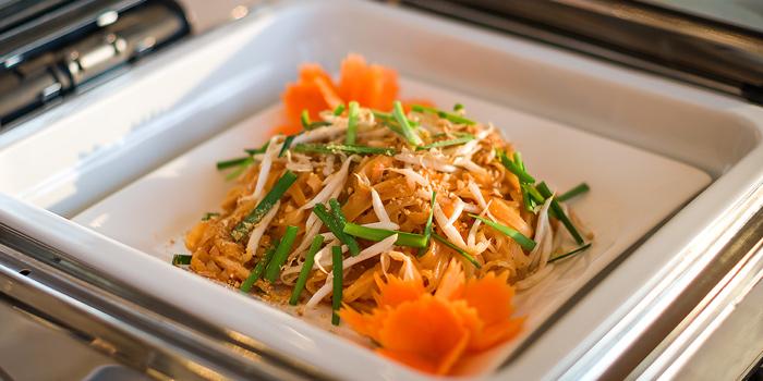 Pad Thai from Skyline at AVANI Riverside Bangkok Hotel 257 Charoennakorn Rd Thonburi, Bangkok