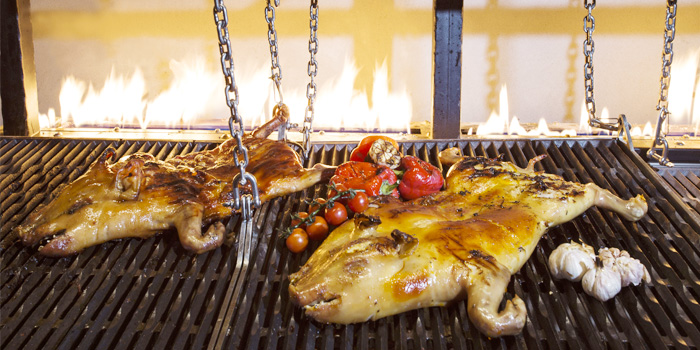 Parilla Grilled from Goji Kitchen & Bar at Marriott Marquis Queen