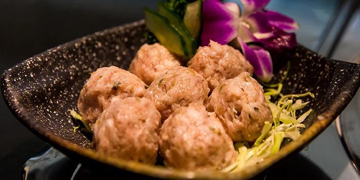 Pork Balls, Yang Xian Din Hot Pot, Jordan, Hong Kong