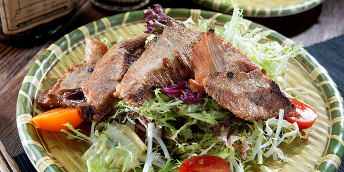 Spicy & Sour Pork Neck Salad, Sisombath Laos Restaurant, Central, Hong Kong