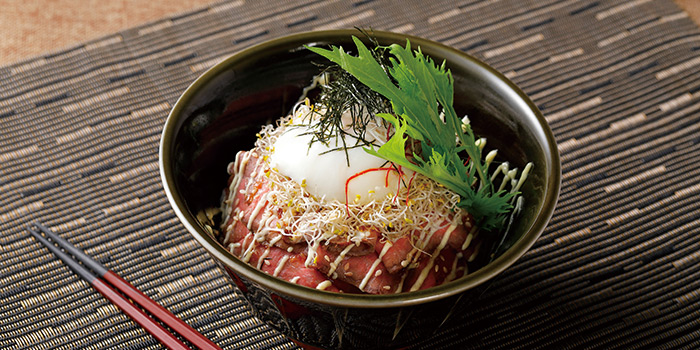 Roasted Beef Rice Bowl, Wagyu 88, Causeway Bay, Hong Kong