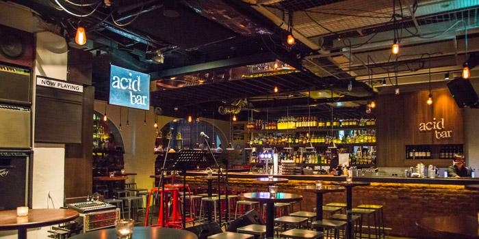 Interior of Acid Bar at Peranakan Place in Orchard, Singapore