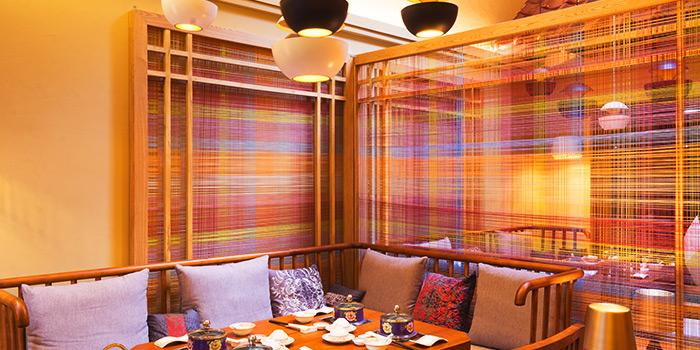 Interior of Ganglamedo Vegetarian Cuisine in Tanjong Pagar, Singapore