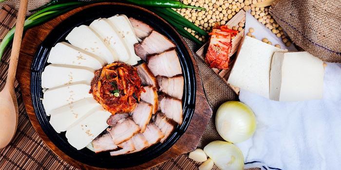 Pork Belly Tofu Kimchi from SBCD Korean Tofu House (Millenia Walk) at Millenia Walk in Promenade, Singapore