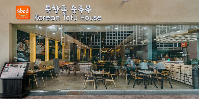 Exterior of SBCD Korean Tofu House (Millenia Walk) at Millenia Walk at Millenia Walk in Promenade, Singapore