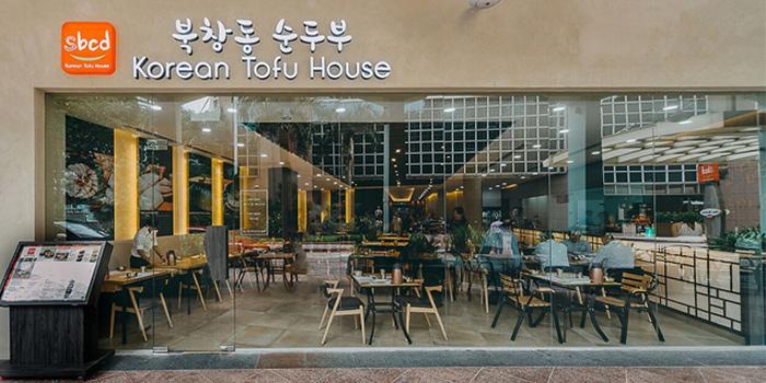 Exterior of SBCD Korean Tofu House (Millenia Walk) at Millenia Walk at Millenia Walk in Promenade, Singapore