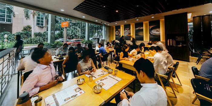 Interior of SBCD Korean Tofu House (Millenia Walk) at Millenia Walk in Promenade, Singapore