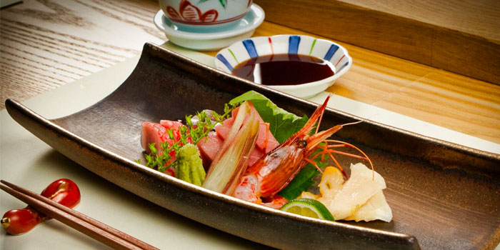 Sashimi Platter from Sushi Jiro at Marina Mandarin in City Hall, Singapore