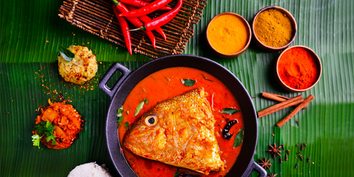 Fish Head from The Banana Leaf Apolo (Parkway Parade) at Parkway Parade in Marine Parade, Singapore