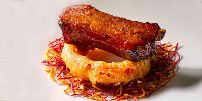 Baked Spare Rib from Wah Lok Cantonese Restaurant at Carlton Hotel in City Hall, Singapore
