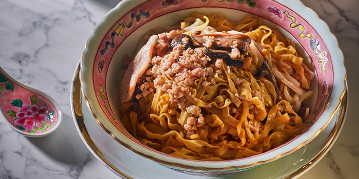 Bak Chor Mee from The Lobby Lounge at Shangri-La Hotel in Tanglin, Singapore