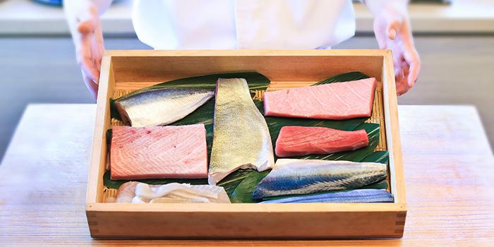 Sashimi, Sushi Taki, Tsim Sha Tsui, Hong Kong