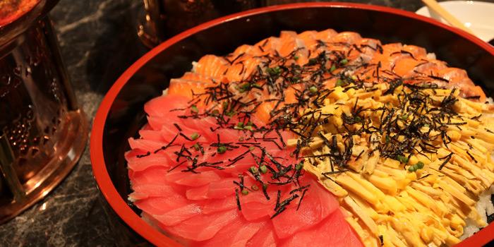 Japanese Sashimi from Praya Kitchen at Marriott Bangkok Hotel The Surawongse Surawong Road, Si Phraya Bangrak, Bangkok