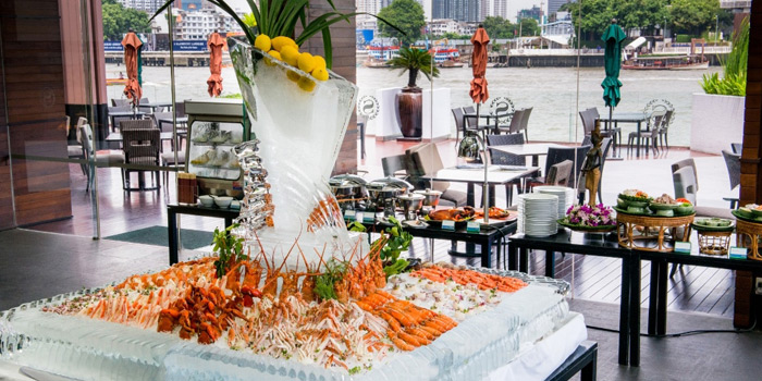 Sunday Brunch from Feast at Royal Orchid Sheraton Hotel & Towers, Bangkok