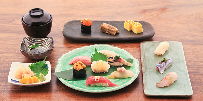 Sushi Set, Sushi Taki, Tsim Sha Tsui, Hong Kong