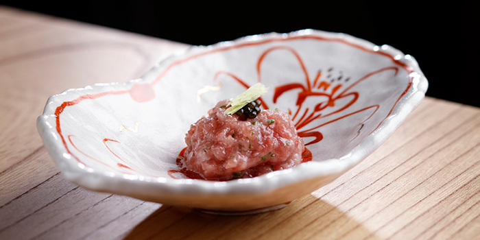 Bluefin Tuna Belly from Takayama Japanese Restaurant in OUE Downtown Gallery in Tanjong Pagar, Singapore