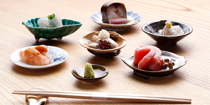 Otsukuri from Takayama Japanese Restaurant in OUE Downtown Gallery in Tanjong Pagar, Singapore