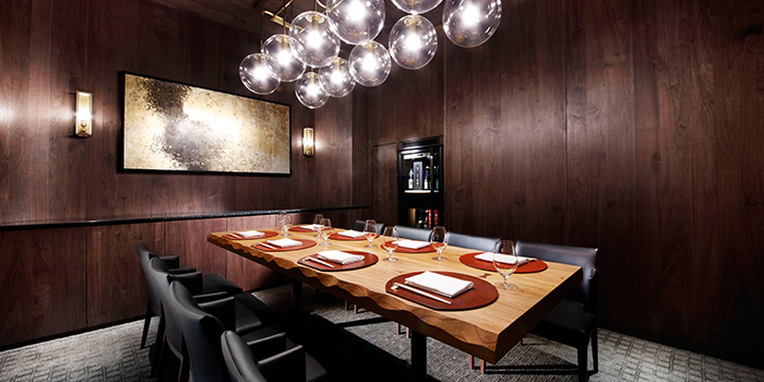 Private Room in Takayama Japanese Restaurant in OUE Downtown Gallery in Tanjong Pagar, Singapore