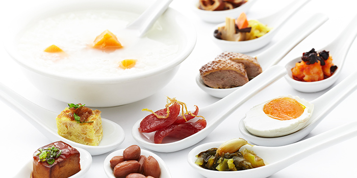 Teochew Porridge from Spice Brasserie in Little India, Singapore