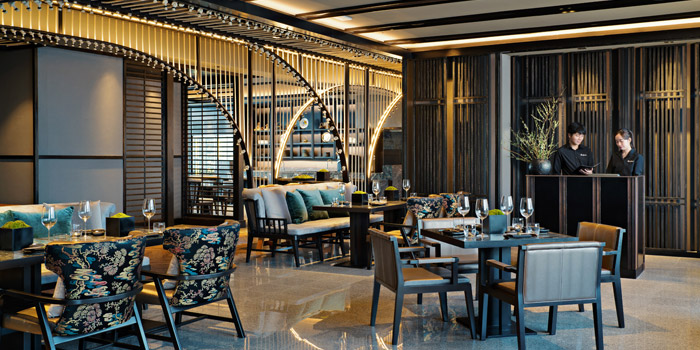The Dining Area of Akira Back at Marriott Marquis Sukhumvit 22, Klongton Klongtoey, Bangkok Thailand