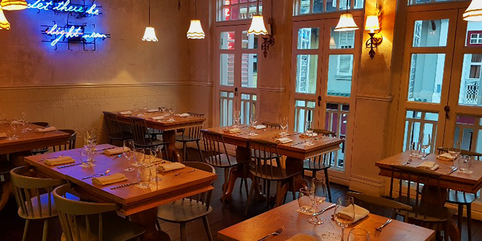 Dining Room from Oxwell & Co on Ann Siang Road in Chinatown, Singapore