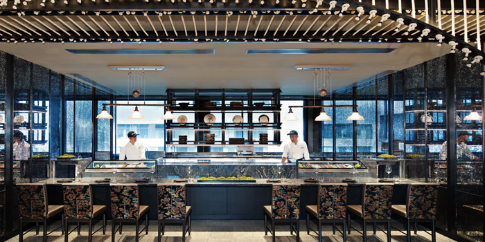 The Sushi Bar of Akira Back at Marriott Marquis Sukhumvit 22, Klongton Klongtoey, Bangkok Thailand
