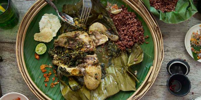 Dish 4 from The Warung, Alila Villas Uluwatu
