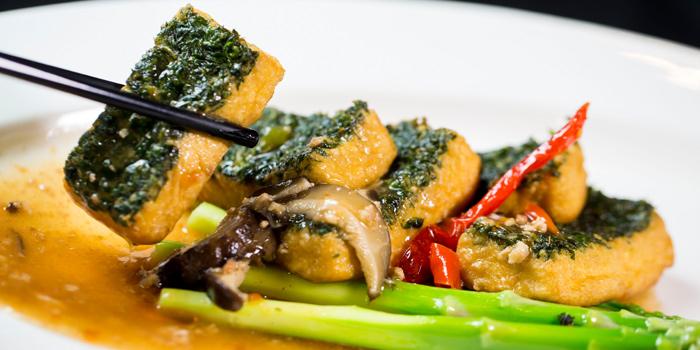 Tofu from Xin Tian Di at Crowne Plaza Bangkok Lumpini Park 952 Rama IV Road Bangkok