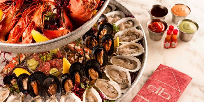 Seafood Platter from db Bistro & Oyster Bar in The Shoppes at Marina Bay Sands, Singapore