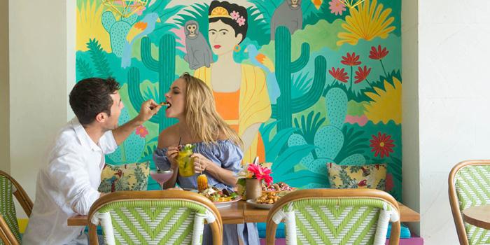 Interior 1 at El Mexicano, Bali