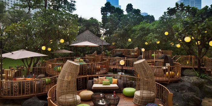 Interior from JimBARan Lounge, Jakarta