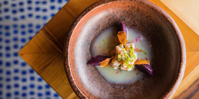 Dish 1 at Lacasita, Bali