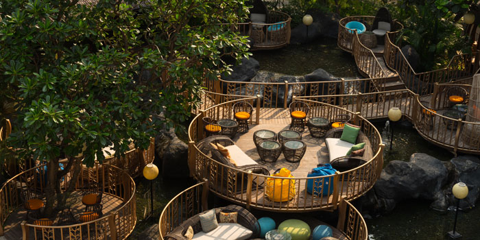 Interior 2 from JimBARan Lounge, Jakarta