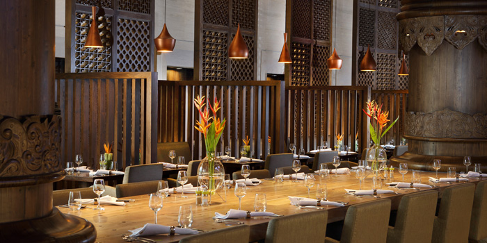 Interior 2 at Rasa Restaurant, Jakarta