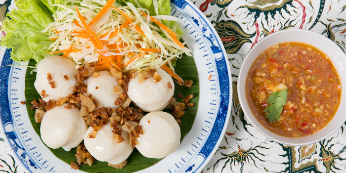 Boiled Meat Ball from The Charm Dining Gallery in Phuket Town, Muang, Phuket, Thailand