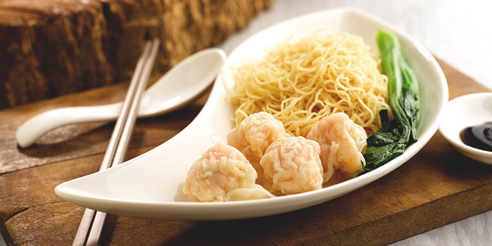 Shrimp Wanton Noodle from Crystal Jade Kitchen (Suntec City) at Suntec City Mall in Promenade, Singapore