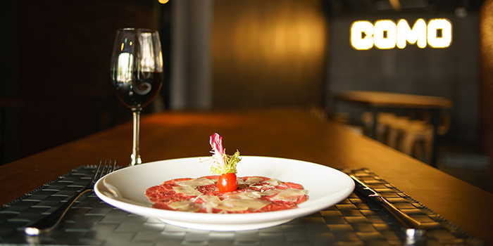 Carpaccio, COMO Italian Restaurant and Bar, Sai Wan Ho, Hong Kong