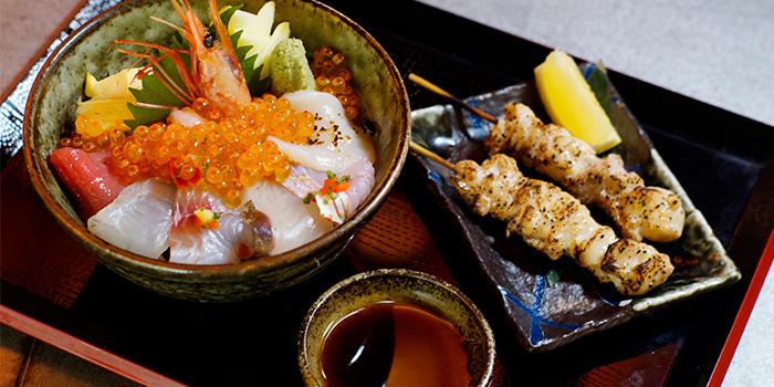 Chirashi Don Set from Kurama Robatayaki X Sushi Murasaki at Millenia Walk in Promenade, Singapore