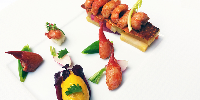 Crayfish pattes rouges, Brasserie On The Eighth, Admiralty, Hong Kong