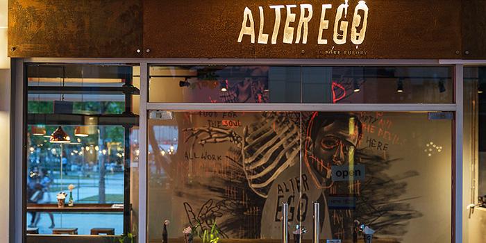 Exterior Facade of Alter Ego at Esplanade Mall in City Hall, Singapore