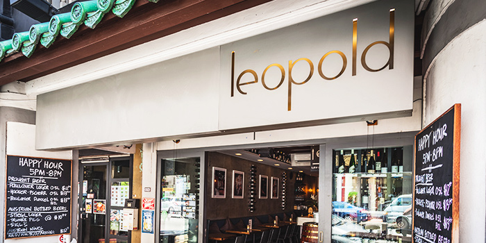 Exterior of Leopold in Tanjong Pagar, Singapore