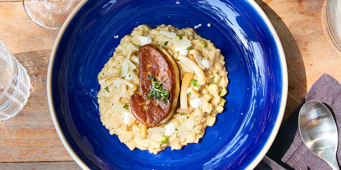 Risotto Foie Gras from Escape Bangkok at Emquartier, Building 5 5th Floor, Wattana Bangkok
