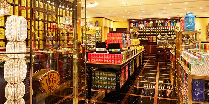 Interior, Tea WG Salon & Boutique (IFC), Central, Hong Kong