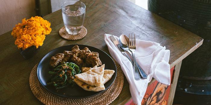 Dish 1 at Indus Restaurant, Bali