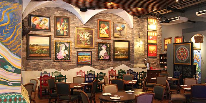 Interior from Margarita