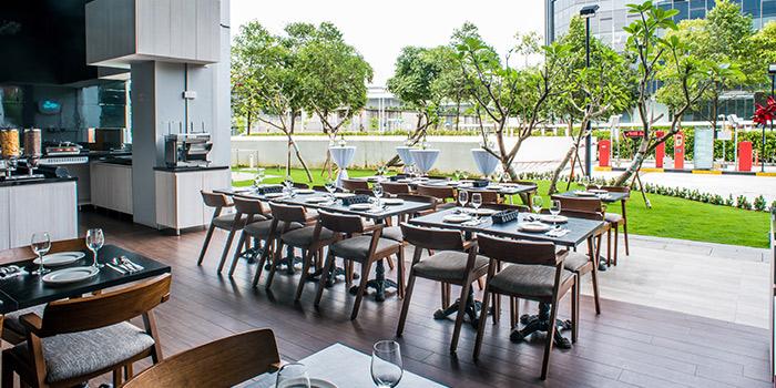 Main Dining Area of Cali @ Changi in Changi, Singapore